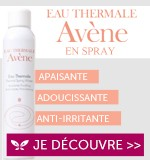 L'eau thermale Avène en spray