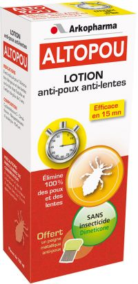 Arkopharma - Altopou Lotion anti-poux anti-lentes<br/>Dispositif médical