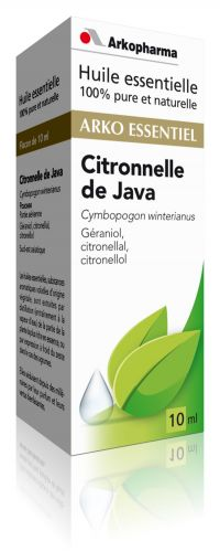 Illustration Citronnelle de Java (Cymbopogon winterianus)