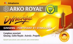 Illustration Arko Royal Dynergie - 20 ampoules de 15 ml