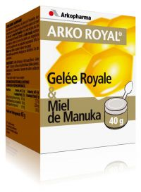 Illustration Arko Royal Gelee Royale + Miel De Manuka