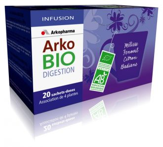 Illustration Arkobio Infusion Digestion Bio