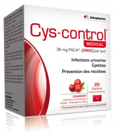 Illustration Cyscontrol Sachets - 20 sachets