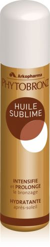 Illustration Phytobronz huile sublime 100ml