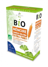 Illustration Ampoules Bio Mémoire Extra Fort