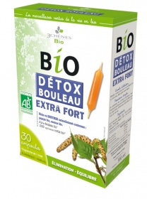 Illustration Ampoules Bio Détox Bouleau Extra Fort