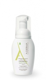 Illustration Aderma exomega shampooing mousse 125 ml
