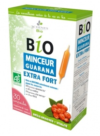 Illustration Ampoules Bio Minceur Guarana Extra Fort