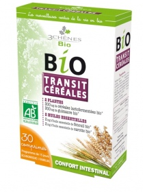 Illustration Bio Transit Céréales Confort Intestinal - 30 comprimés
