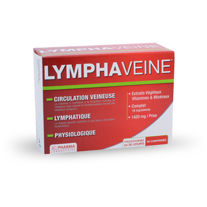 Illustration 3C Pharma Lymphaveine 60 Comprimés