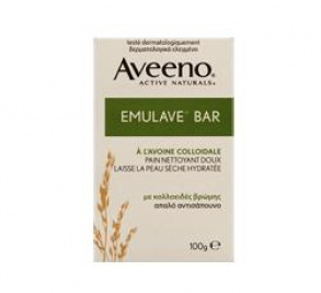 Illustration Aveeno Colloidal Emulave Bar Pain Nettoyant Doux 100g