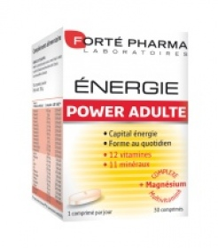 Illustration Energie Power Adulte 30 Comprimés