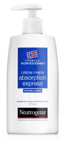Illustration Formule Norvégienne Crème mains absorption express 150 ml