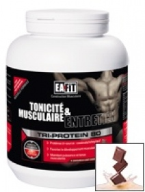 Illustration Tri-Protein 80 Chocolat 750gr
