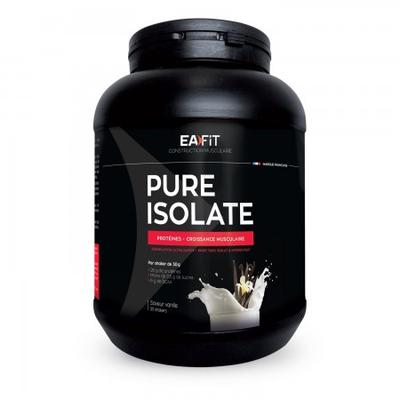 Eafit - Pure Isolate Vanille 750g