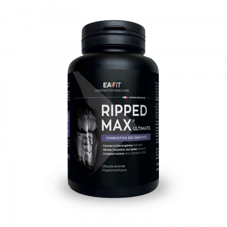 Eafit - Ripped Max Ultimate - 120 comprimés