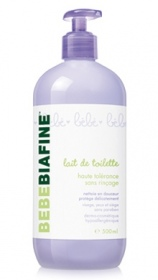 Illustration BébéBiafine Lait de Toilette 500ml