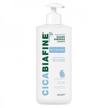 Illustration Cicabiafine Baume Douche Hydratant Surgras 400ml