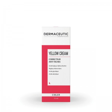 Dermaceutic - YELLOW CREAM Concentré anti-taches