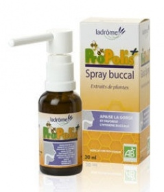 Illustration LaDrôme Propolis Spray Buccal à la Propolis 30ml