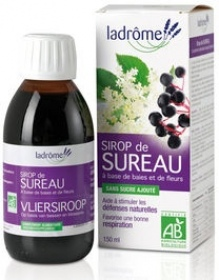 Illustration Sirops à Base de Plantes Sirop de Sureau Immunité et Respiration 150 ml
