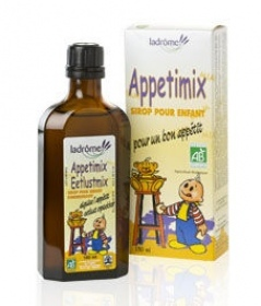 Illustration Sirops à Base de Plantes Sirop Enfants  Appetimix Appétit 150 ml