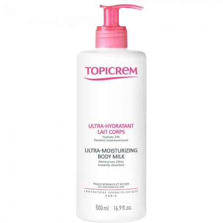Topicrem - Ultra-Hydratant lait corps - 500ml