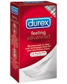 Illustration Préservatifs Durex Feeling Advanced x 12