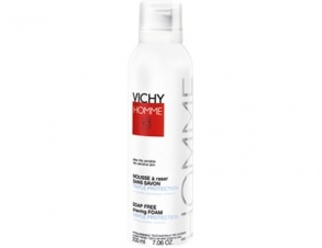 Vichy Laboratoires - Mousse à raser sans savon Triple protection 200 ml