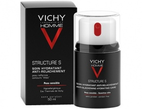 Illustration Vichy Homme Structure S. Soin hydratant raffermissant 50 ml