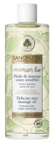 Sanoflore - Huile de massage zones sensibles maman bio 100 ml