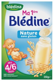 Illustration Ma 1ère Blédine Nature 250g
