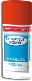 Mercurochrome - Désinfectants Spray Antiseptique Incolore 100 ml
