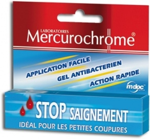 Illustration 1ers Secours Gel Stop saignement 15 ml