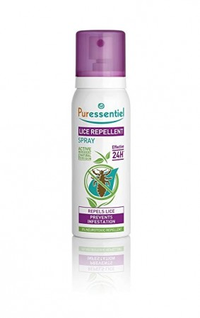 Illustration Anti-Poux Répulsif Poux Spray 75ml