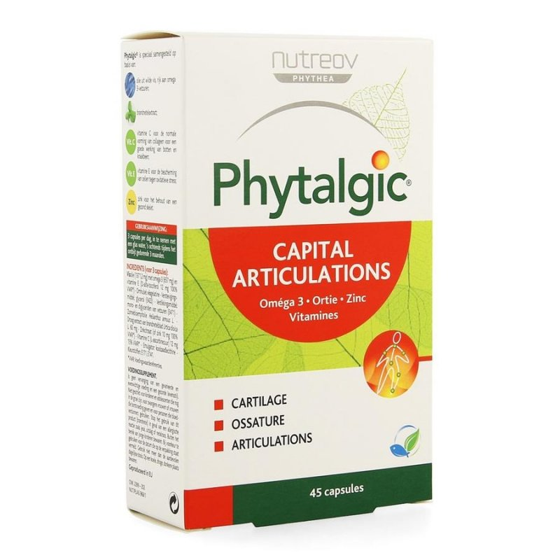 Illustration Phytalgic Capital Articulations 45 Capsules