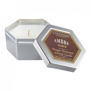 Illustration Ambre Bougie Ambre 100g