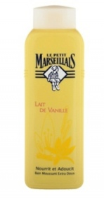 Illustration Bain Moussant Lait De Vanille  500 ml