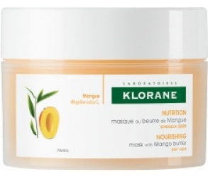 Klorane  - Masque Réparateur Nutrition Intense Au Beurre De Mangue 150 ml