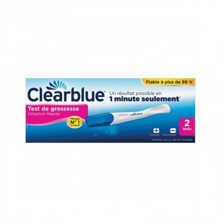 Clearblue - Test de grossesse Clearblue Plus-boite de 2 tests