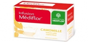 Illustration Infusions Médiflor Camomille 24 Sachets