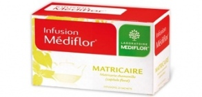 Illustration Infusions Médiflor Matricaire  24 Sachets