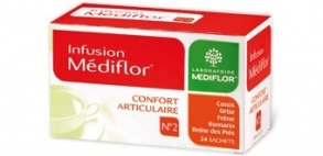 Illustration Infusions Médiflor N°2 Confort Articulaire 24 Sachets