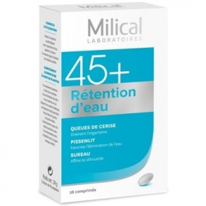 Milical - Segment 45+ Rétention D'Eau 28 Comprimés