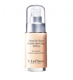 Illustration Fond De Teint Fluide Anti-Âge SPF 20 Beige Ambré Satiné  30 ml