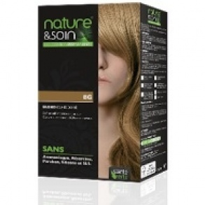 Illustration Soin Des Cheveux  Nature & Soin - Colorations Permanentes 8G Blond Clair Doré