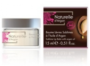 Naturelle d'Argan - Baume Lèvres Sublimes BIO 15mL