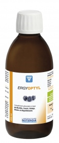 Nutergia - Synergies Phytominérales Ergyoptyl 250 ml