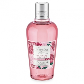 Illustration Gel douche pivoine Flora - 250 ml