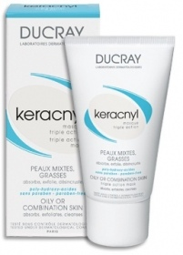 Ducray -  Peaux Grasses A Imperfections Keracnyl Masque Triple Action 40 ml
